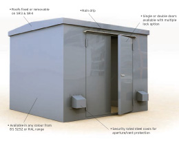 LPCB Steel Security Enclosures